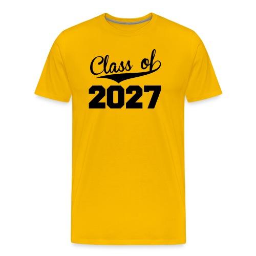 Class of 2027 t-shirt - Men's Premium T-Shirt