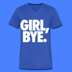 Girl Bye T-Shirts - Men's V-Neck T-Shirt by Canvas
