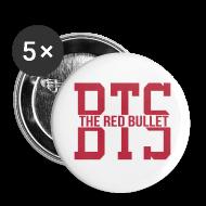 Buttons ~ Large Buttons ~ [BTS] Bandana (black glitter)