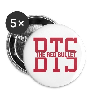 [BTS] Bandana (black glitter) - Large Buttons