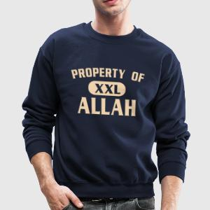 Property of Allah - Mike Tyson - Crewneck Sweatshirt