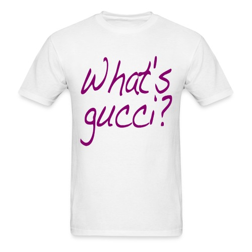 What's gucci? (Purple) - Men's T-Shirt