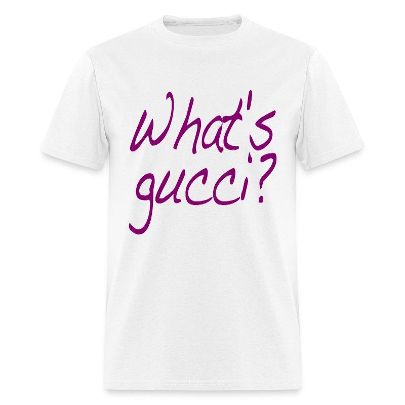 gucci shirt. what\u0027s gucci? (purple) - men\u0027s t-shirt gucci shirt