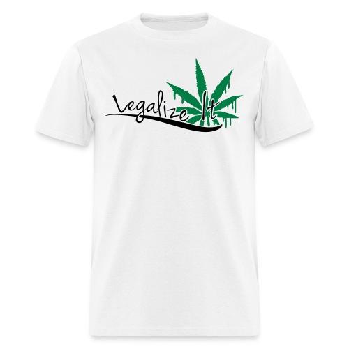 Legalize it - Men's T-Shirt
