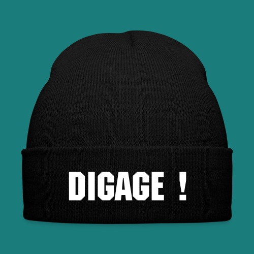Tuque (DIGAGE!) - Knit Cap with Cuff Print