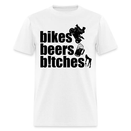 3B's of Life - Men's T-Shirt