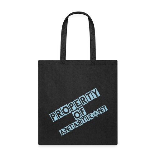 Property of Antarticunnt tote bag - Tote Bag
