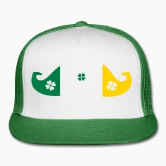Irish mustache Trucker Cap