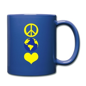 Peace and love earth day Full Color Mug - Full Color Mug