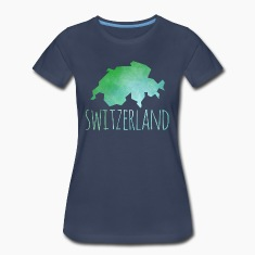 switzerland Women's T-Shirts