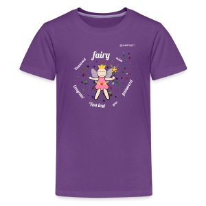 Password Fairy Inside white text - Kids' Premium T-Shirt