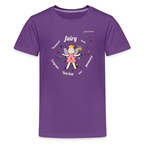Password Fairy Inside white text - Kids' Premium T-Shirt