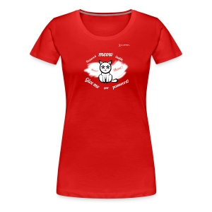 Password Meow Inside - Women's Premium T-Shirt