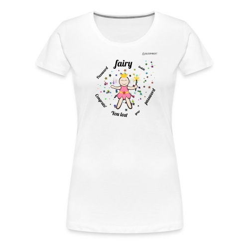 Password Fairy - Women's Premium T-Shirt
