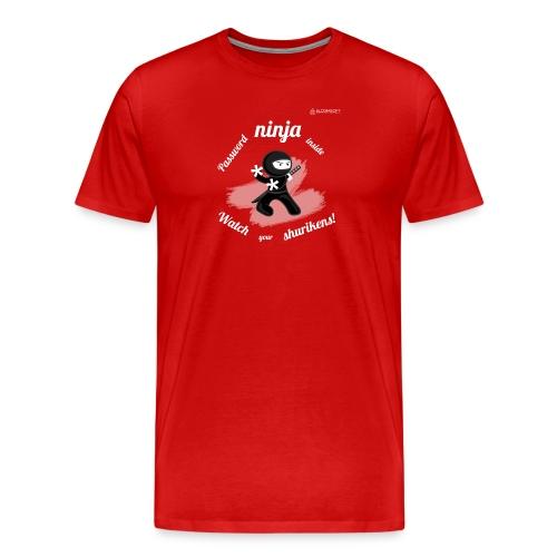 Password Ninja - Men's Premium T-Shirt