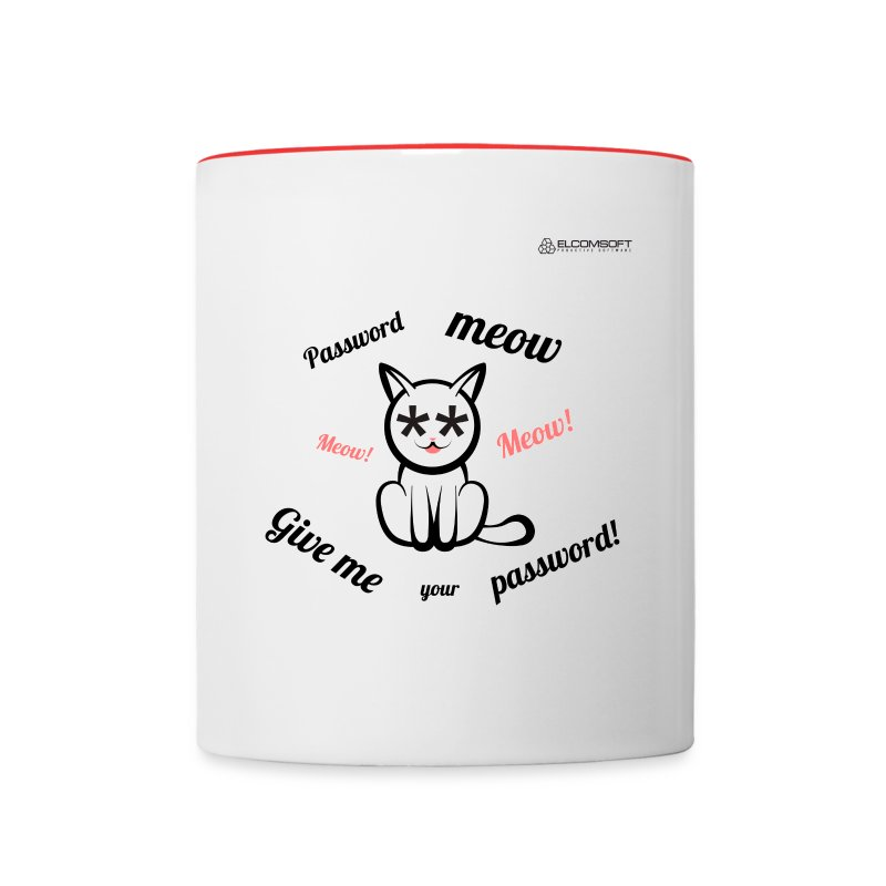Password Meow - Contrast Coffee Mug