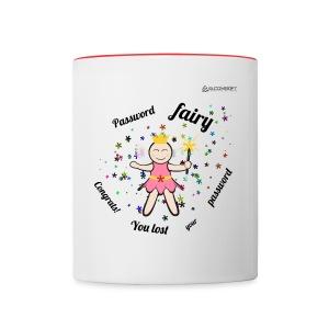 Password Fairy  - Contrast Coffee Mug