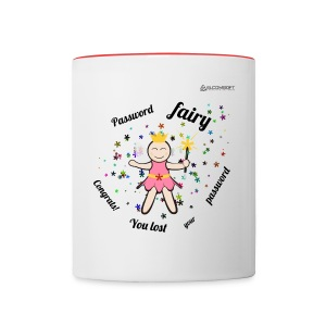 Password Fairy  - Contrast Coffee Mug