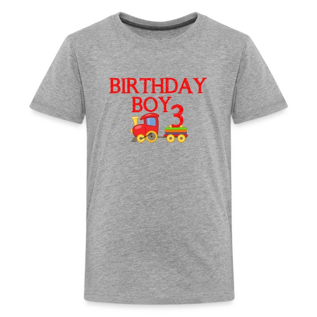 Boys 3rd Birthday Shirts