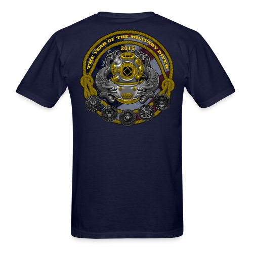 Year of the Military Diver - Men's T-Shirt