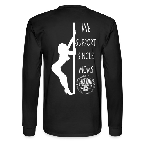 Men's Long Sleeve Stripper T (back shown) - Men's Long Sleeve T-Shirt
