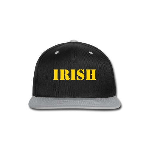 Irish Flat Hat - Snap-back Baseball Cap