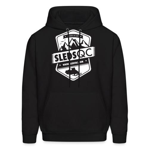 SledsQC - Hoodie unisexe - Molleton à capuche pour hommes