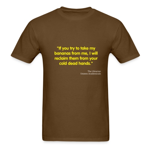 If you try to take my bananas - Men's T-Shirt