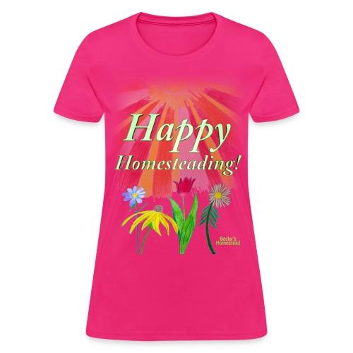 Happy Homesteading - Women's - Women's T-Shirt