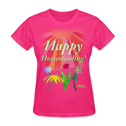 Happy Homesteading - Women's - Women's T-Shirt