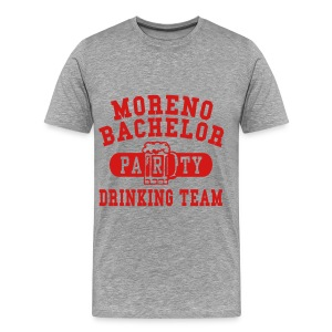 Moreno Bachelor Drinking Team - Men's Premium T-Shirt