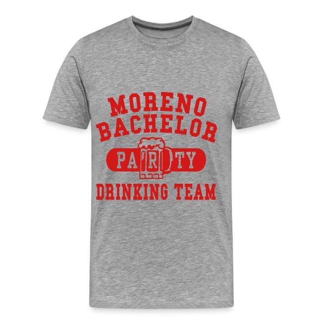 Moreno Bachelor Drinking Team