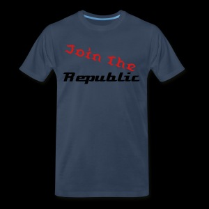 Join The Rebulic - Men's Premium T-Shirt