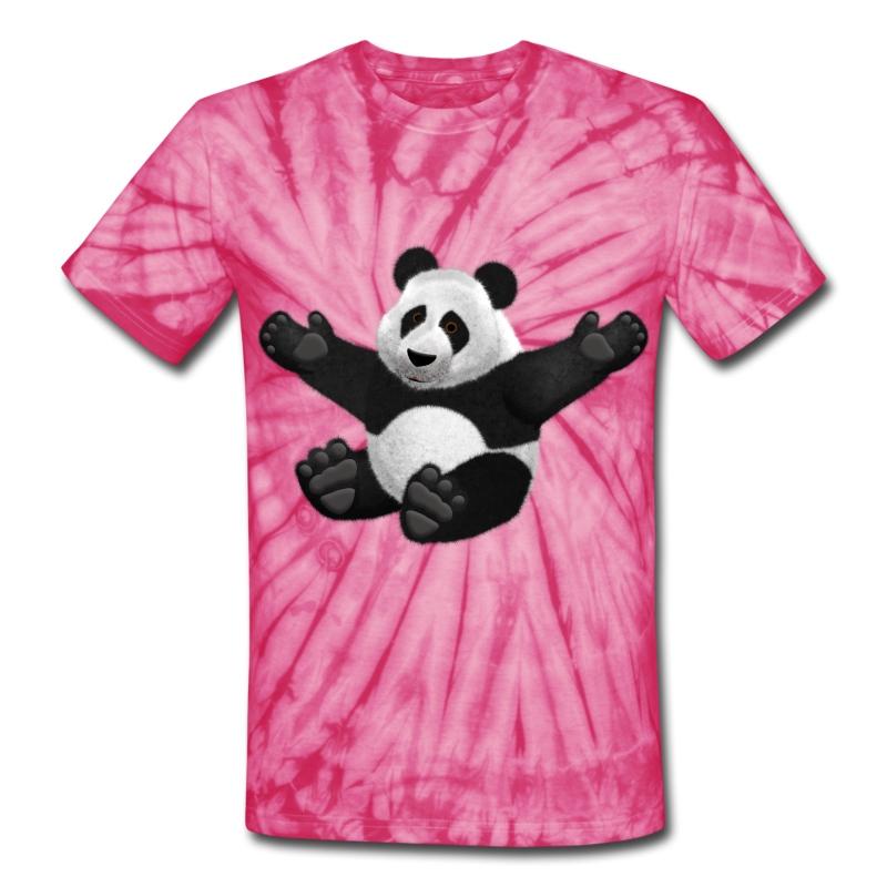 3d fluffy panda bear t shirt spreadshirt. Black Bedroom Furniture Sets. Home Design Ideas