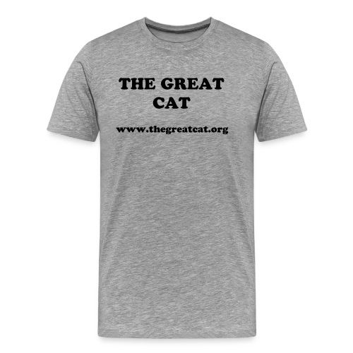THE GREAT CAT - Men's Premium T-Shirt