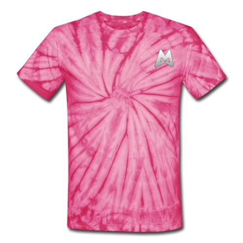 Tie-Dye Magmar Tee with gradient Logo - Unisex Tie Dye T-Shirt
