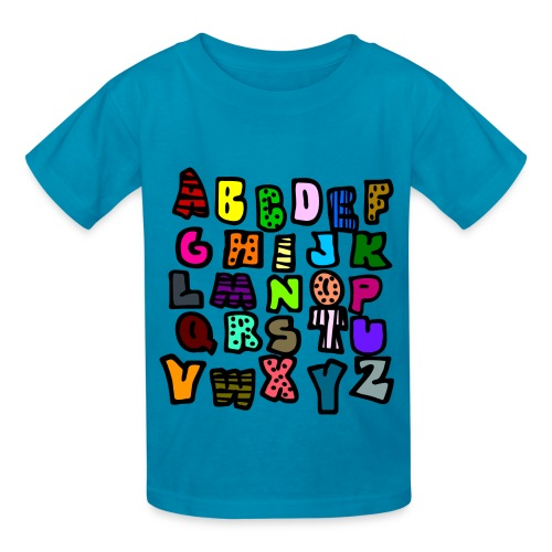 A to Z - Kids' T-Shirt
