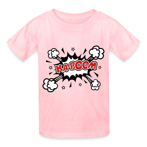 KABOOM - Kids' T-Shirt