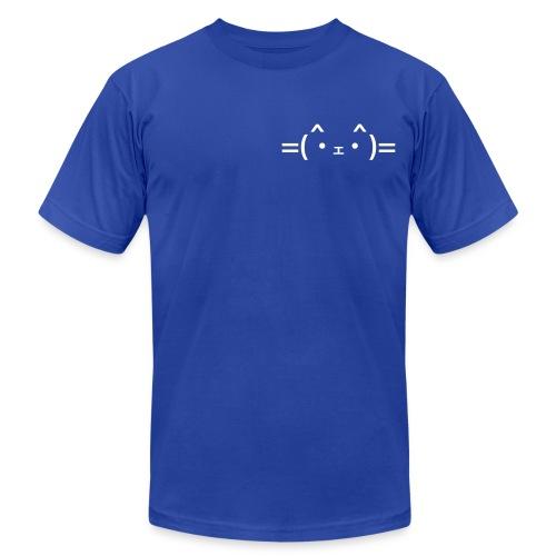 Cat Emoji (American Apparel) - Men's  Jersey T-Shirt