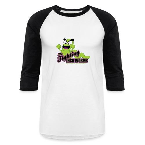The Fighting Inchworms Baseball T-shirt - Baseball T-Shirt