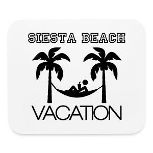Siesta Vacation Mouse Pad - Mouse pad Horizontal