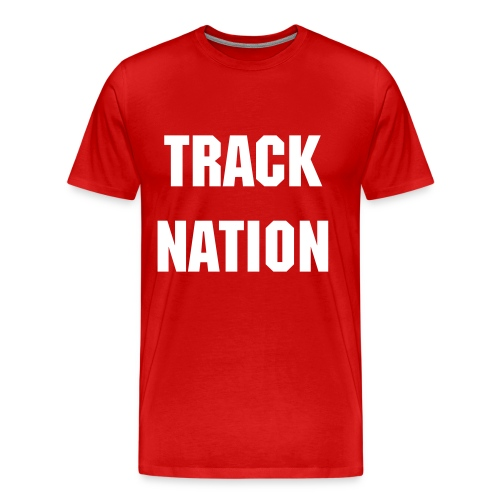 TRACK LOVERS TEE - Men's Premium T-Shirt