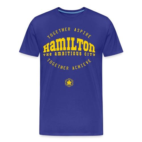 Aspire. Achieve. Hamilton. - Men's Premium T-Shirt