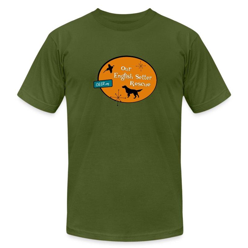 Mens OESR Logo T-Shirt - Men's Fine Jersey T-Shirt