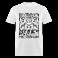 T-Shirts ~ Men's T-Shirt ~ Rhodesian Ridgeback 'Best in Show' T shirt