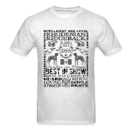 T-Shirts ~ Men's T-Shirt ~ Rhodesian Ridgeback 'Best in Show' T shirt