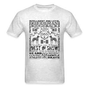 Rhodesian Ridgeback 'Best in Show' T shirt - Men's T-Shirt
