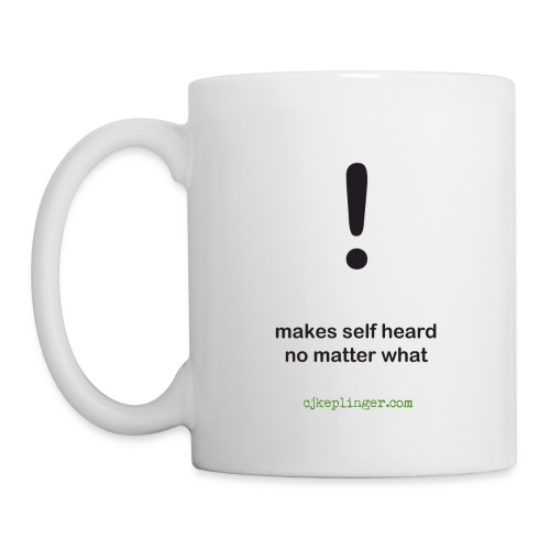 Punctuation Personality: Exclamation Mug - Coffee/Tea Mug