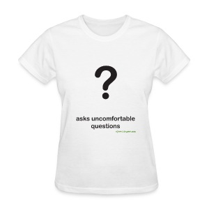 Punctuation Personality: Question fitted tee - Women's T-Shirt