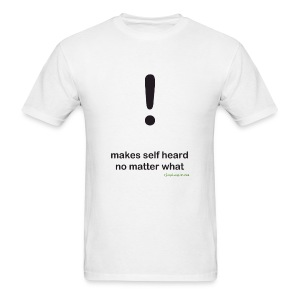 Punctuation Personality: Exclamation Tee - Men's T-Shirt
